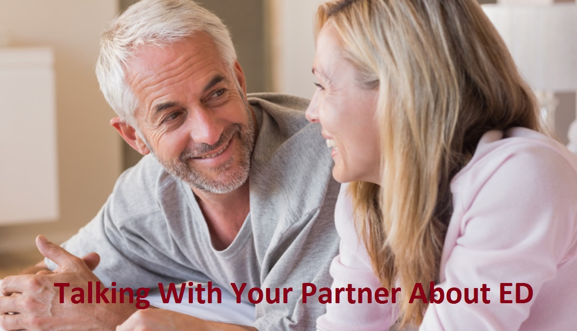 Taking with your partner about ED